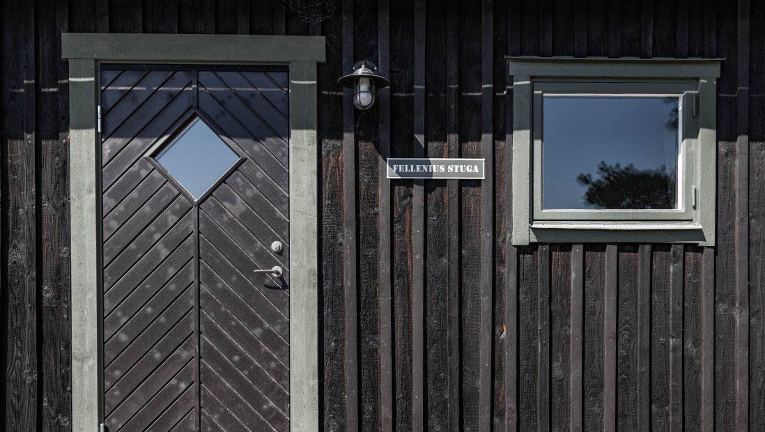 Fellenius- Sovrum och skrivarstuga