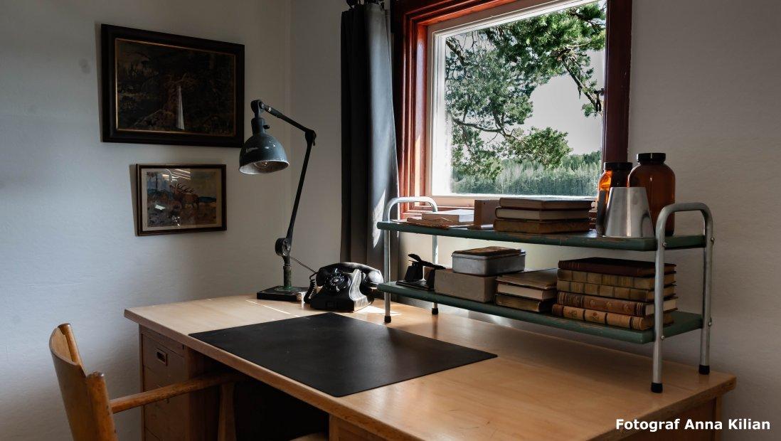 Skrivbord med 40 talkänsla