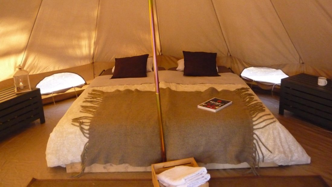 Pottifar's glamping tent